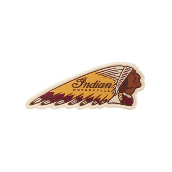 Indian Motorcycle® Headdress Patch farbig