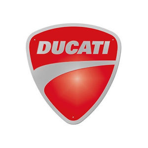 Ducati Metallschild