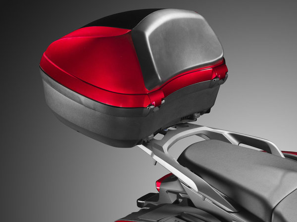 Honda VFR800X Top Case 45 L Candy Arcadian Red R305